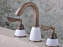 AOEIY Wasserhahn Küchen Mischbatterie Kupferne