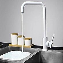 AOEIY Wasserhahn Küchen Mischbatterie Lackierter,