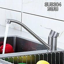 AOEIY Wasserhahn Küchen Mischbatterie Warm- und