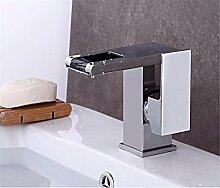 AOEIY Wasserhahn Küchen Mischbatterie Wasserfall