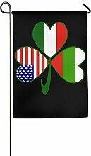 AOHOT Garten Flaggen,Bulgarian Irish American