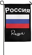 AOHOT Garten Flaggen,Flag Russia Flag Graphic