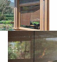 AOLI Bambus-Rollo-Schnur, Sichtschutz-Rollo für