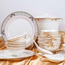 AOLI Chinese Ceramic Series Bone China-Geschirr