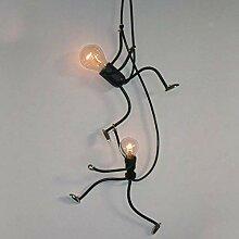 AOLI Kronleuchter Nordic Lampe Wohnzimmer