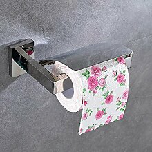 Aoligei Edelstahl Handtuchhalter Toilettenpapierhalter Handyhalter Toilettenpapierhalter