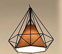Aoligei Eisen Kronleuchter LED-Pyramide