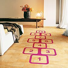 Aoligei Klassische Sprung Haus Spiele Kinder Zimmer Schlafzimmer Dekoration Wandaufkleber 60 * 90cm