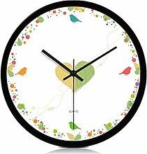 Aoligei Wohnzimmer Modern Einfache Uhr Uhr Die