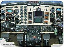AoLismini Badematte Luftfahrt Beechcraft King Air