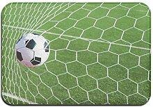 AoLismini Badematte, Sportdekor Fußball Fußball