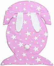 AOLVO Baby Pucksack Schlafsack, für Neugeborene,