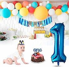 AOLVO Dekorationsset zum 1. Geburtstag,