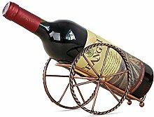 AOLVO Vino Wein Rack Eisen Vintage Pariser Stil