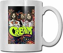 AOOEDM Mugs 11 Unzen lustige Kaffeetasse, Sahne