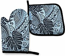 AOOEDM Polynesian Tattoo Tapa Designs