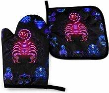AOOEDM Scorpio Neon Horoskop Kreis Ofen
