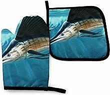 AOOEDM Swordfish Group Futtersuche