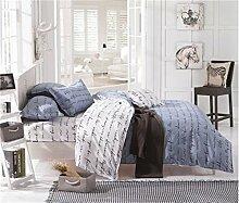 AOTE Kissenbezug für Bettbezüge Bettbezüge Text