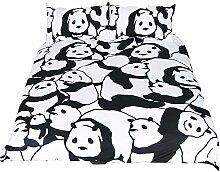 AOTE Set 3 Stück Bettbezug Muster Gedruckt