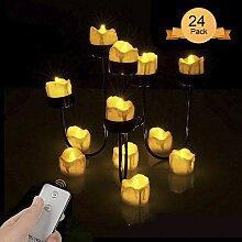 Aottom LED Teelicht Kerzen mit
