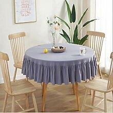 AOUP-Tischdecke, Einfache Nordische Runde