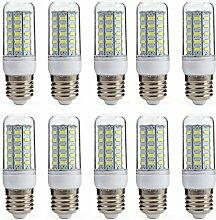 Aoxdi 10x E27 LED Lampe 7W LED Leuchtmittel,