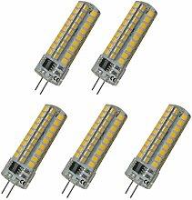 Aoxdi 5X Dimmbar G4 LED Lampen Leuchtmittel 6W,
