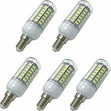 Aoxdi 5x E14 LED Energiesparlampe Leuchtmittel