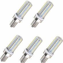 Aoxdi 5X E14 LED Lampe Birne Leuchtmittel 6W,