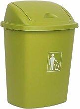 AOYANQI-Mülleimer Abfalleimer mit Deckel, Außen
