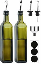 Aozita Olivenöl-Spender-Flaschen-Set, 250 ml,