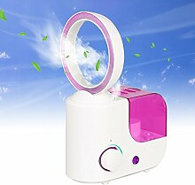 Aozzy Mini Blattloser Ventilator Luftbefeuchter