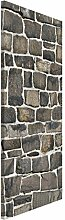 Apalis 108591 Magnettafel Bruchsteintapete Natursteinwand Memoboard Design Hoch Metall Magnet Pinnwand Motiv Wand Stahl Küche Büro, 78 x 37 cm