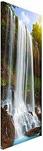 Apalis 108705 Magnettafel Waterfalls Memoboard Design Hoch Metall Magnet Pinnwand Motiv Wand Stahl Küche Büro, 78 x 37 cm