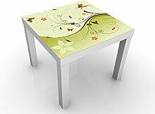 Apalis 47048-278110-855816 Design Tisch Summertime, 55 x 55 x 45 cm, schwarz