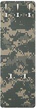 Apalis 78628 Wandgarderobe Camouflage | Design