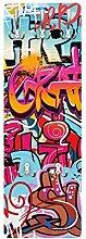 Apalis 79038 Wandgarderobe HipHop Graffiti  