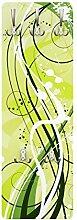 Apalis 79079 Wandgarderobe January | Design Garderobe Garderobenpaneel Kleiderhaken Flurgarderobe Hakenleiste Holz Standgarderobe Hängegarderobe | 139x46cm