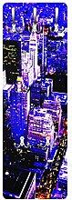 Apalis 79408 Wandgarderobe Retro NYC | Design Garderobe Garderobenpaneel Kleiderhaken Flurgarderobe Hakenleiste Holz Standgarderobe Hängegarderobe | 139x46cm