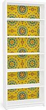 Apalis 90864 Möbelfolie für Ikea Billy Regal - Wayuu Design, größe 2 mal, 94 x 76 cm