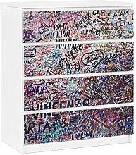 Apalis 91361 Möbelfolie für Ikea Malm Kommode -