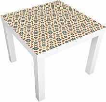 Apalis 91510 Möbelfolie für Ikea Lack - Pop Art Design, größe 55 x 55 cm