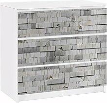 Apalis 91599 Möbelfolie für Ikea Malm Kommode