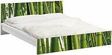 Apalis 93730 Möbelfolie für Ikea Malm Bett niedrig 160x200 cm - Bamboo Trees nummer 1, größe 77 x 177 cm