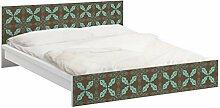 Apalis 93817 Möbelfolie für Ikea Malm Bett niedrig 160x200 cm - Marokkanisches Ornament, größe 77 x 177 cm
