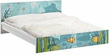 Apalis 93830 Möbelfolie für Ikea Malm Bett niedrig 160x200 cm - nummer EK57 Meereslandschaft, größe 77 x 177 cm