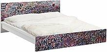 Apalis 93888 Möbelfolie für Ikea Malm Bett niedrig 160x200 cm - Verona - Romeo und Julia, größe 77 x 177 cm