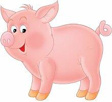 Apalis Fenstersticker No.53 Kleines Schwein