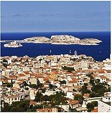 Apalis fliesenwandbild Marseille, Tile Größe: